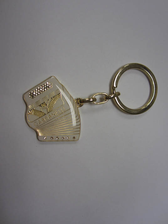 White Gabbanelli Key Ring